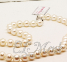 Strand White Pearls
